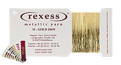 Metallic yarn GOLD 206W