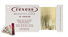 Metallic yarn GOLD KR