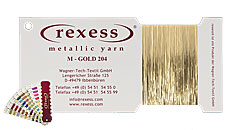 Metallic yarn GOLD 204