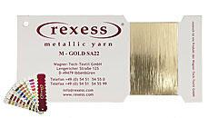 Metallic yarn GOLD SA22
