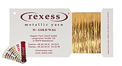 Metallic yarn GOLD WAG