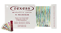 Metallic yarn MULTICOLOR