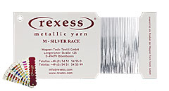 Metallic yarn SILVER RACE