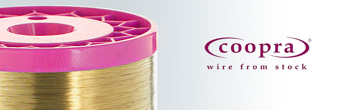 Special wire - flattened copper wire (tinsel).